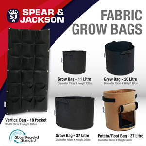 Spear and Jackson Grow Bag Range