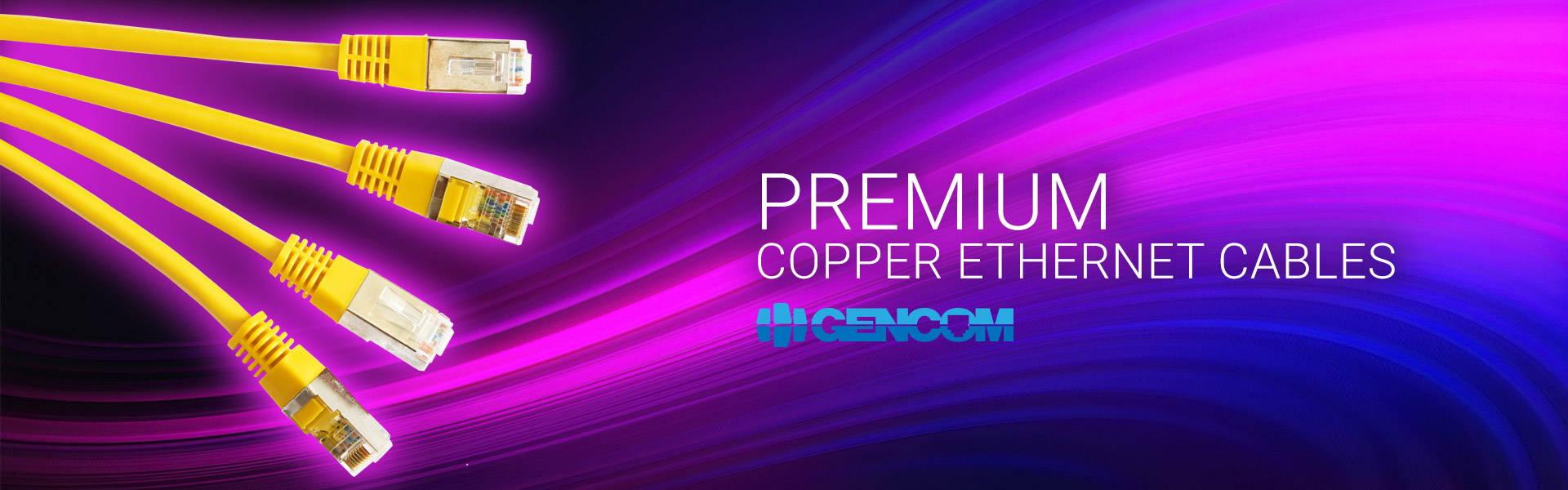 Premium Copper Ethernet Cables