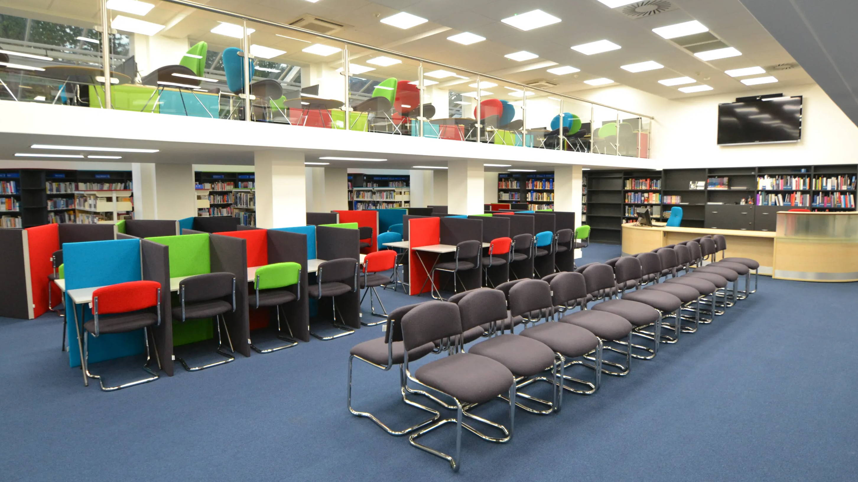 School Libraries Spaces