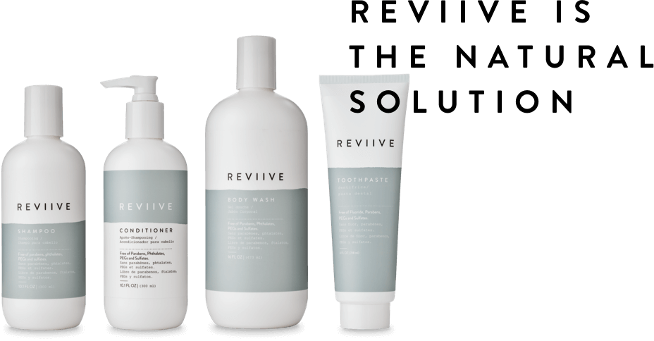 the products of the range revive