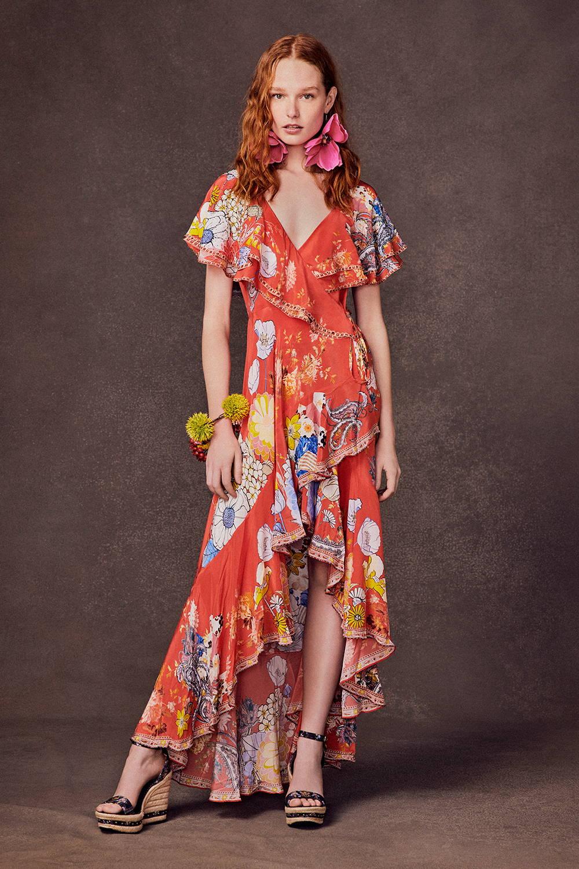 CAMILLA Red Dress, CAMILLA Floral Dress, CAMILLA red floral dress