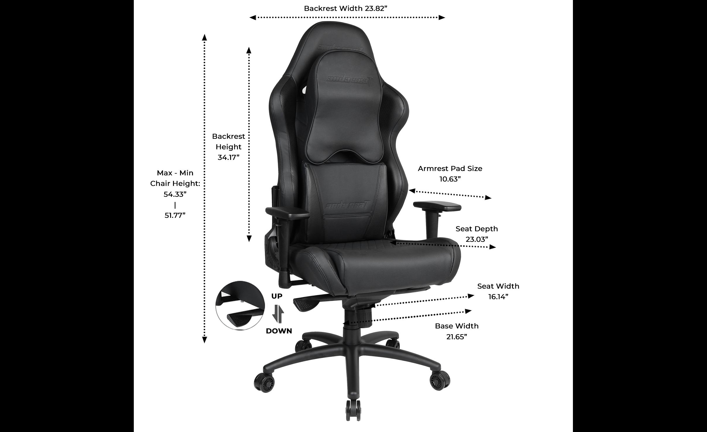 Anda Seat Dark Wizard Premium Gaming Chair | The Best Pro