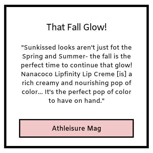 that fall glow!- Athleisure magazine