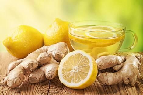 Thé citron-gingembre détox