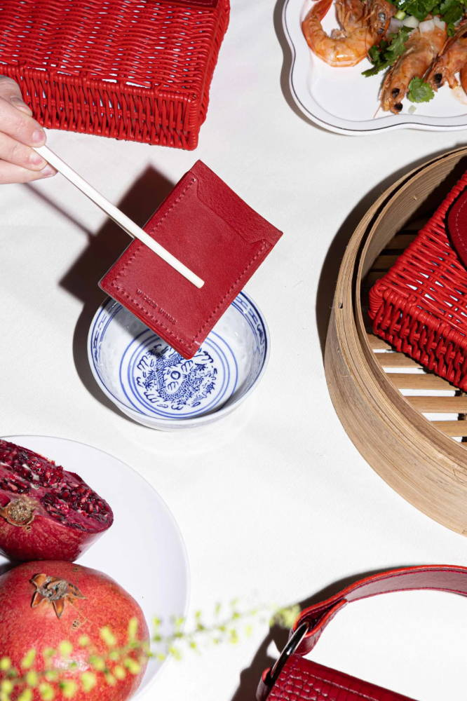 Chinese New Year, Red Cardholder, Red Bag, Wicker Bag, Rattan Bag, Eco Friendly Bag, Wicker Wings, Wicker Wings Bag