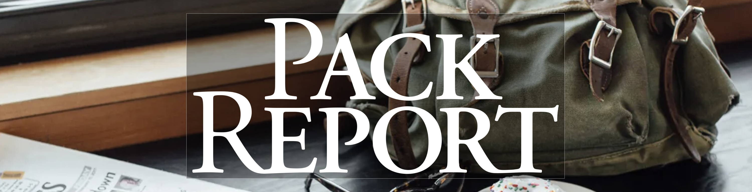 the pack report blog from duluth pack