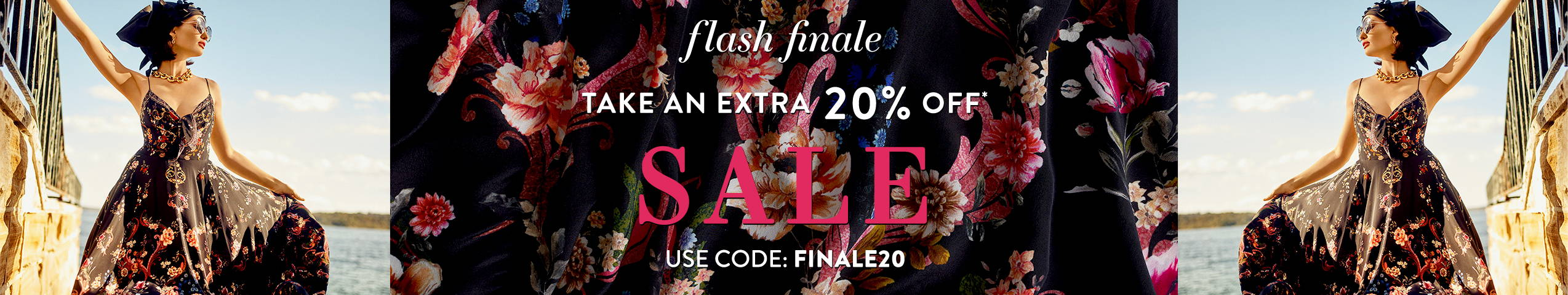 Take an extra 20% off* SALE | Use Code FINALE20