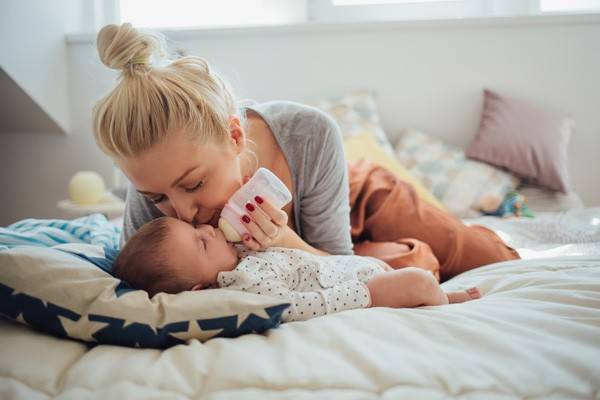 Darmflora-Aufbau bei Säuglingen