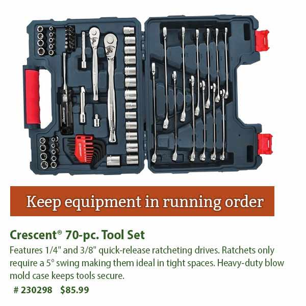 Crescent 70-pc. Tool Set: $85.99