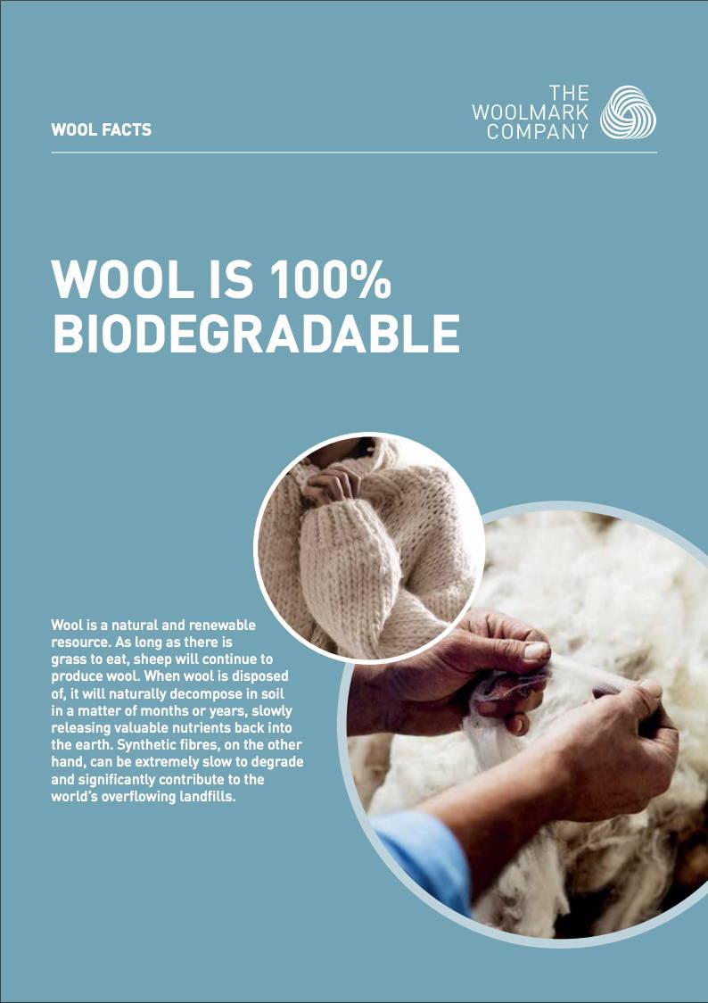 woolmark merino biodegradable