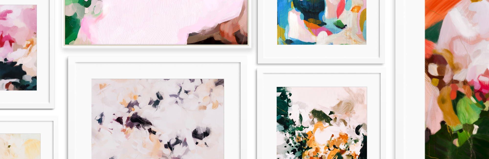 Abstract art prints and paintings by Parima Studio