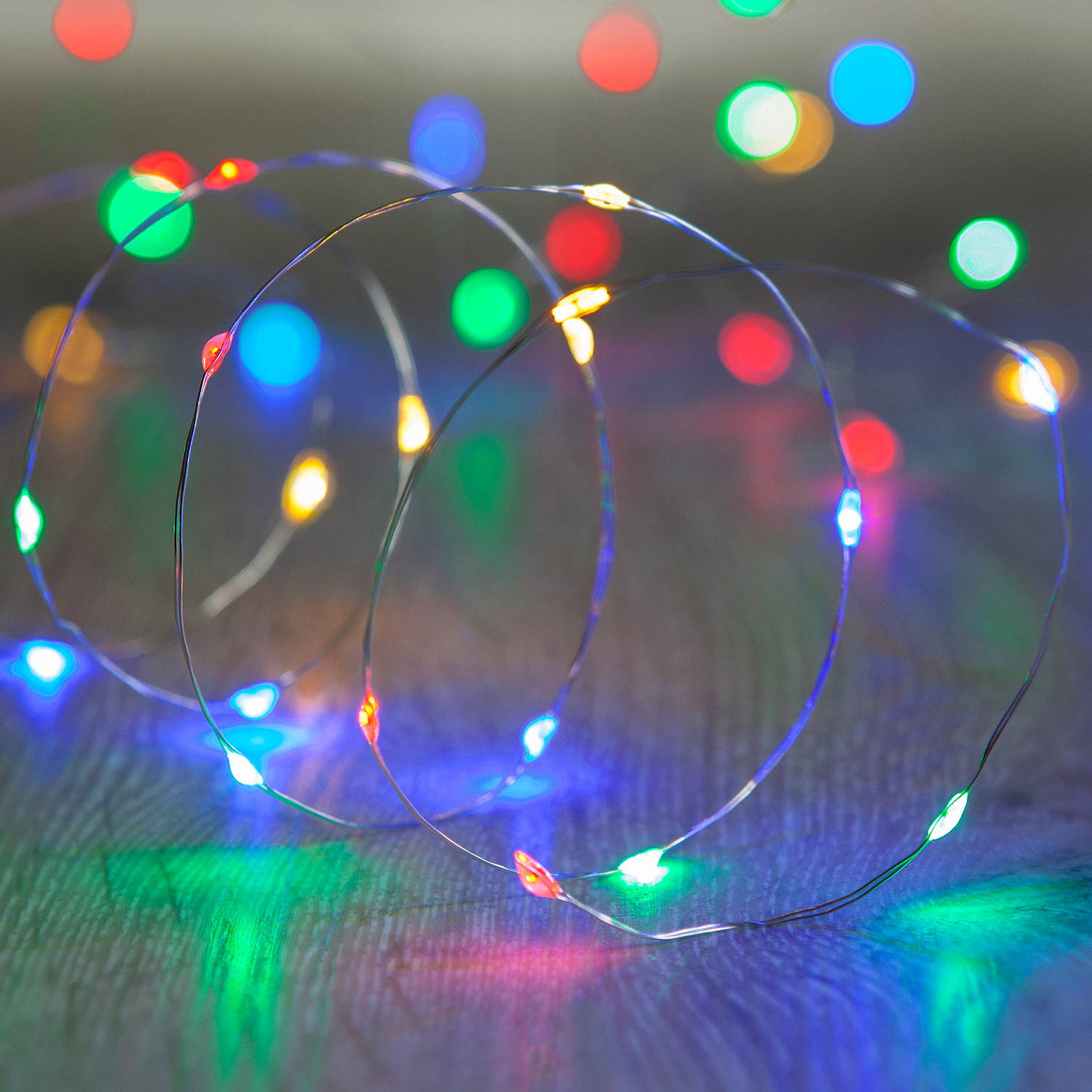 Micro led multicolore de Noël
