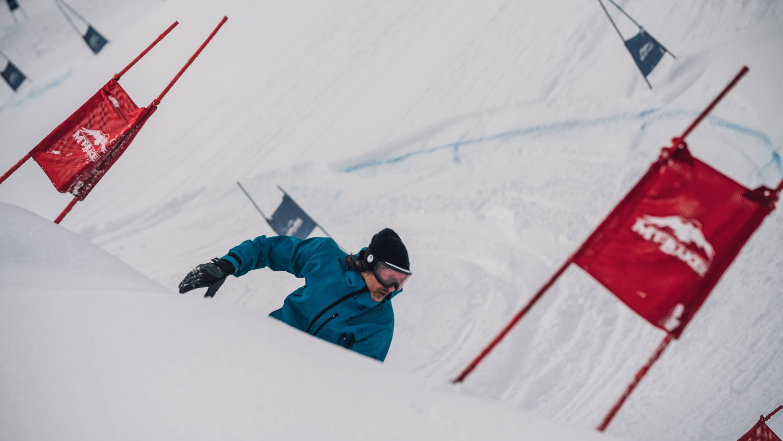 John Showtruck snowboarding