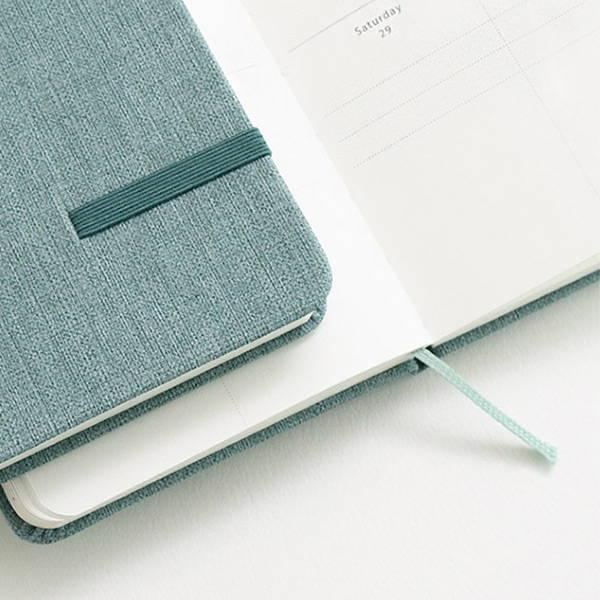 Bookmark - eedendesign 2020 Simple dated weekly diary planner