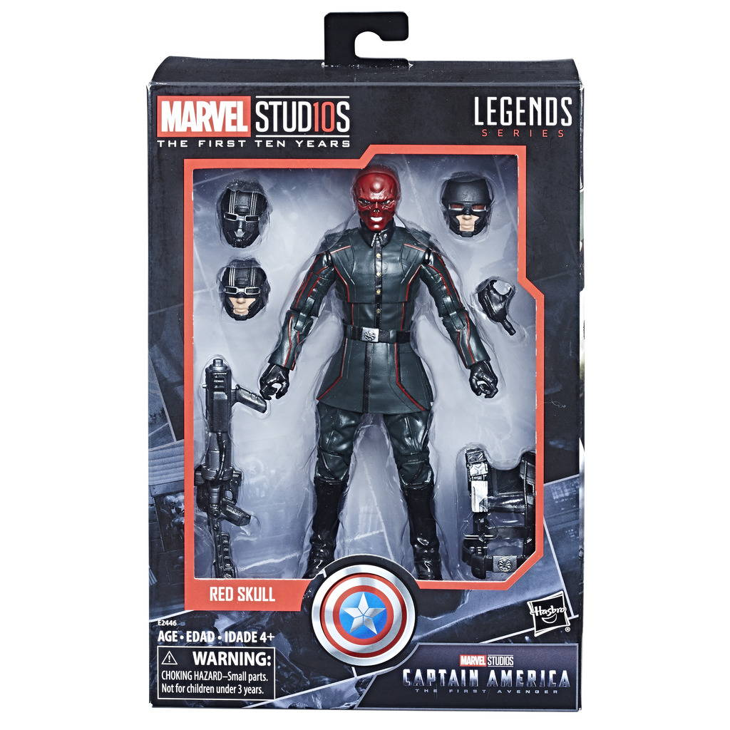 MARVEL STUDIOS: FIRST TEN YEARS - CAPTAIN AMERICA: THE FIRST AVENGER RED SKULL  - MRP 1999