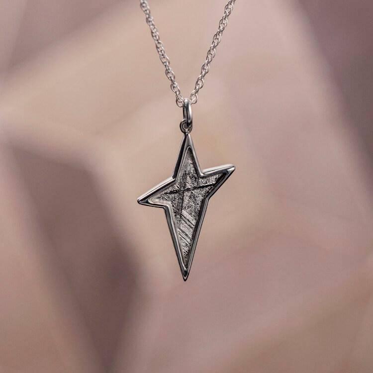 Starburst Meteorite Necklace