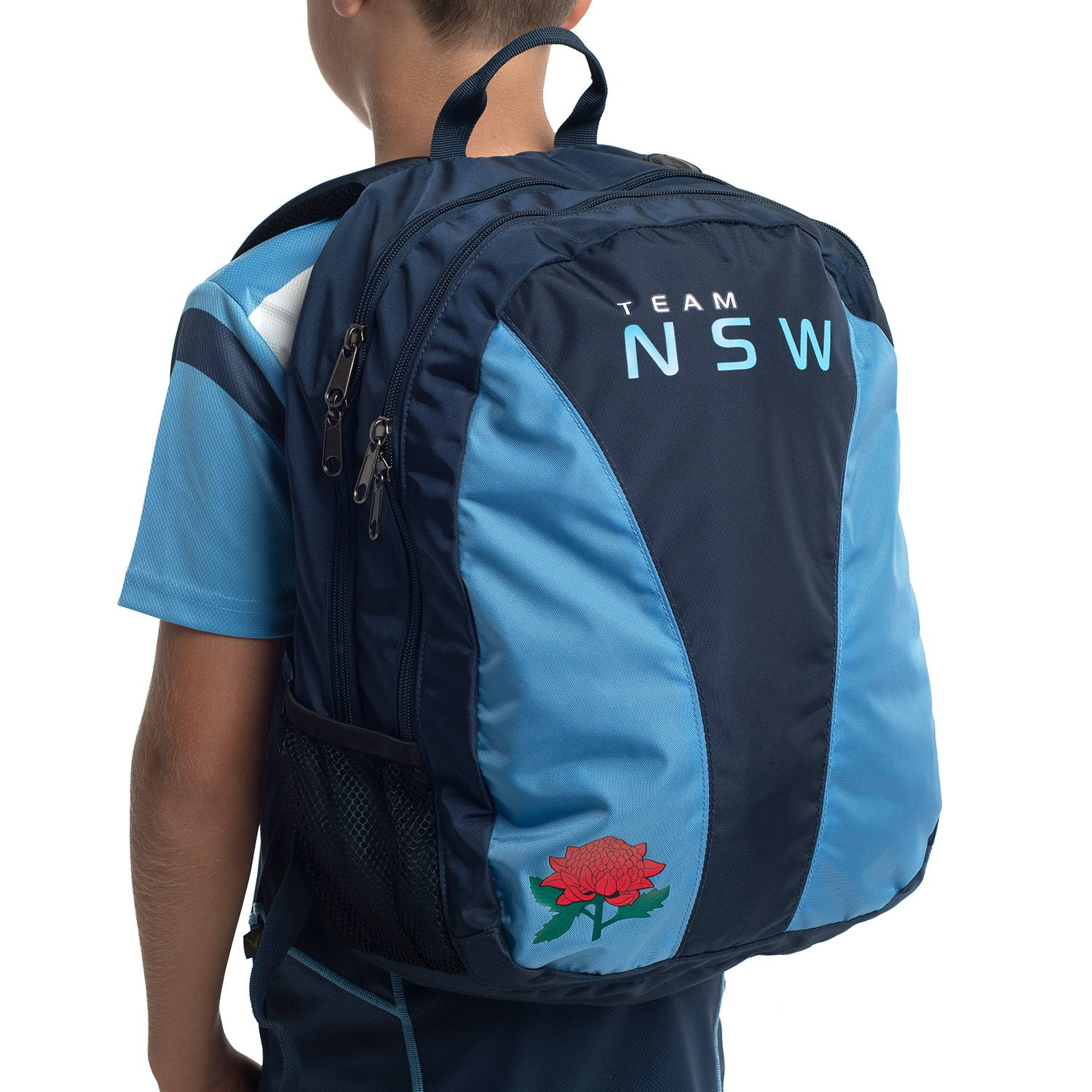 Custom Sports backpack for Team NSW by Valour Sport