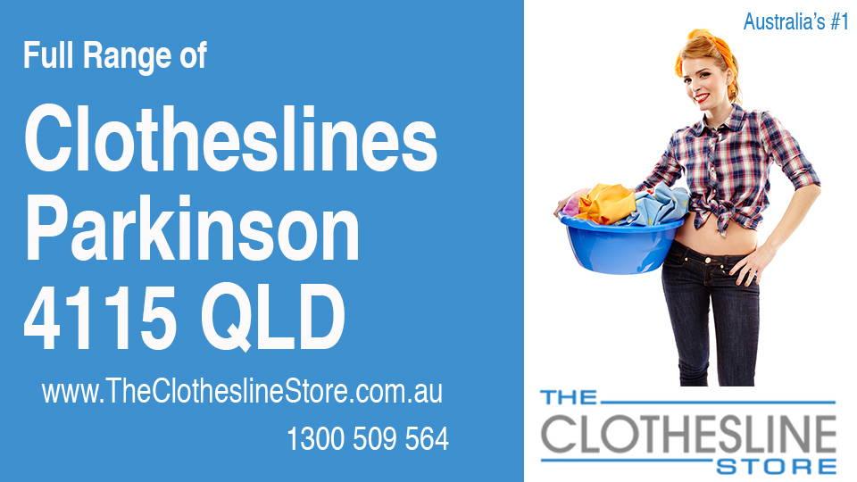 New Clotheslines in Parkinson Queensland 4115