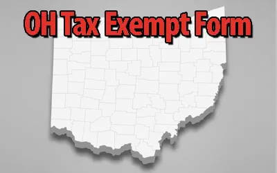 OH Tax Exempt Certificate