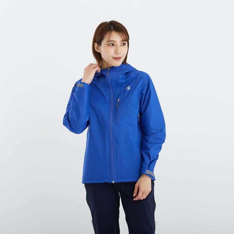 finetrack(ファイントラック)/エバーブレスレグンジャケット/ブルー/WOMENS