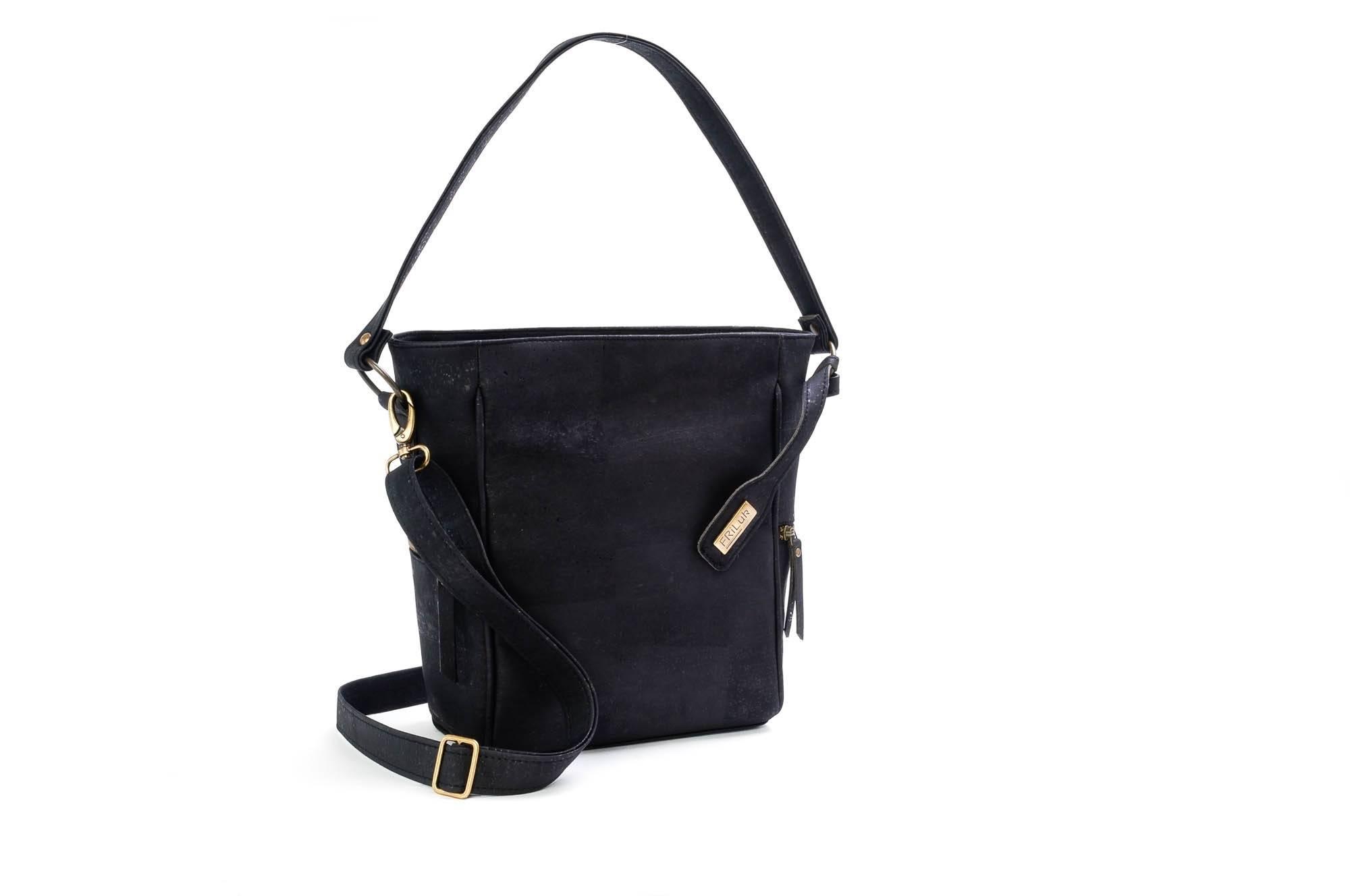 Black Cork Tote Bag