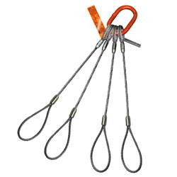 4 Leg Wire Rope Sling