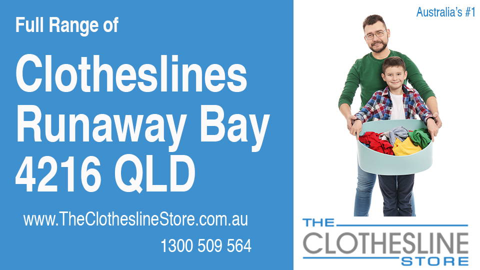 New Clotheslines in Runaway Bay Queensland 4216