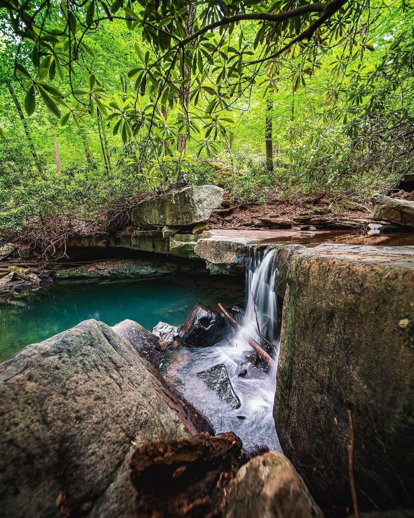 Jonathan Run Falls Waterfalls