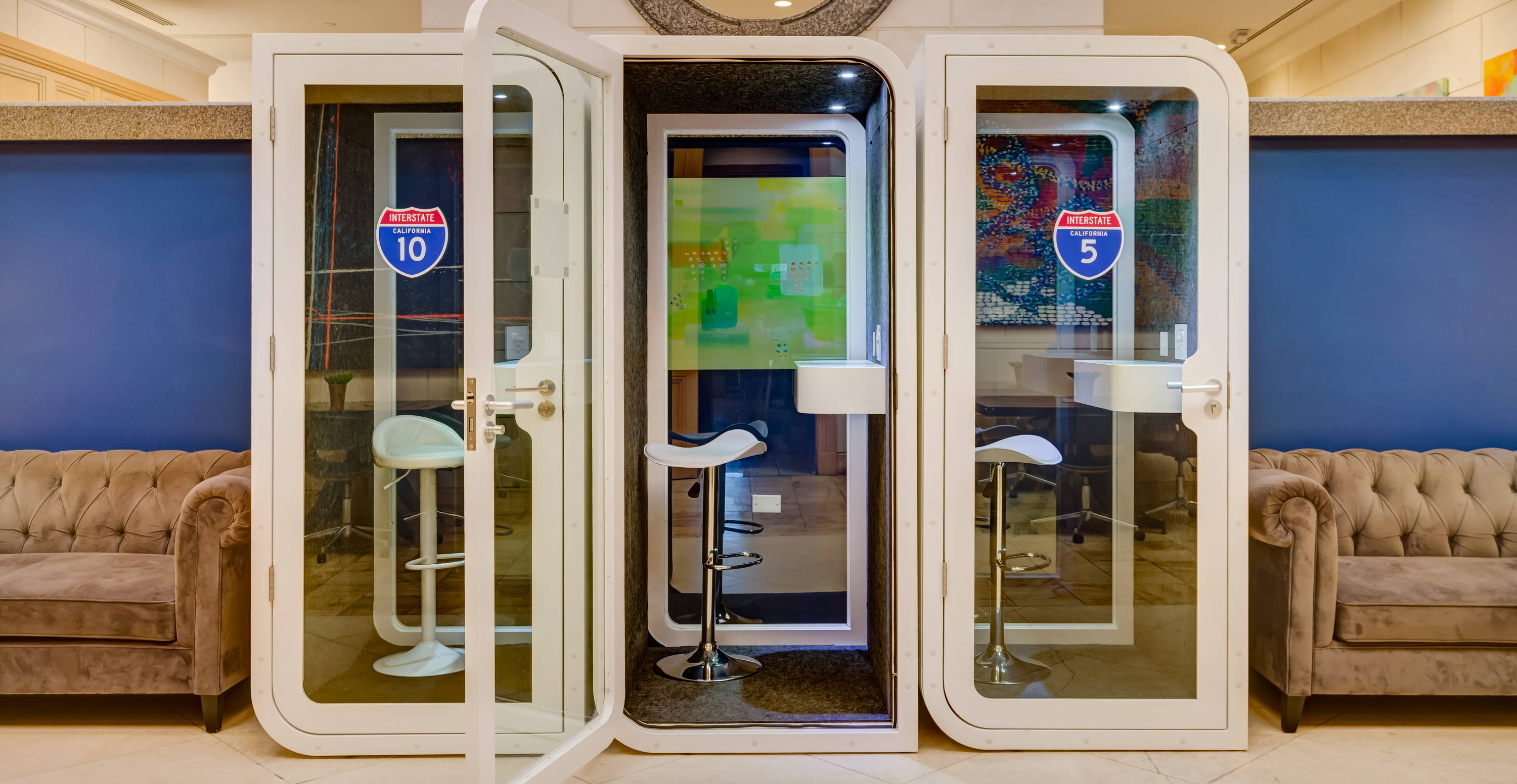 office phone booth pods