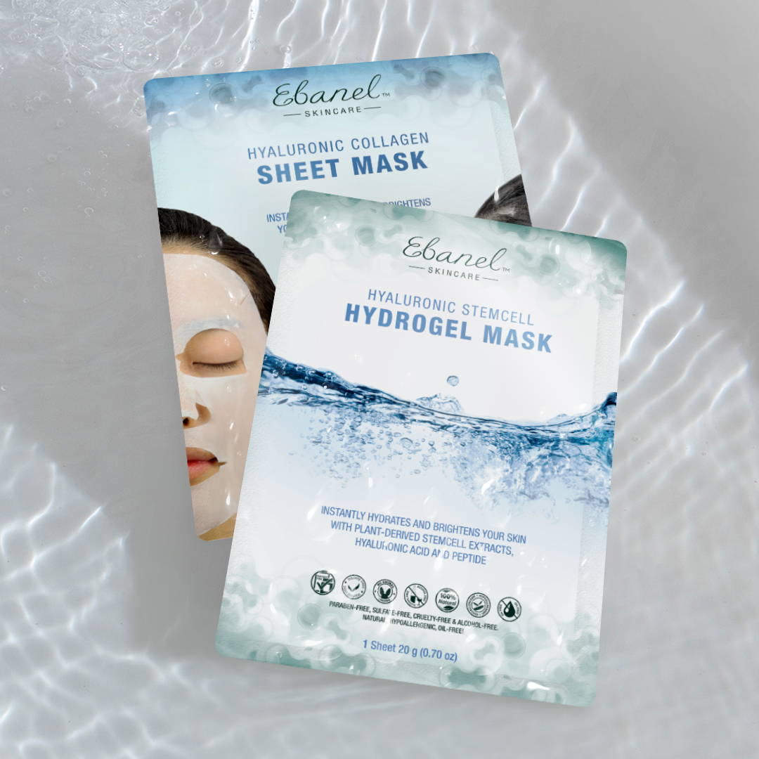 Collagen Sheet Mask and Hydrogel Mask