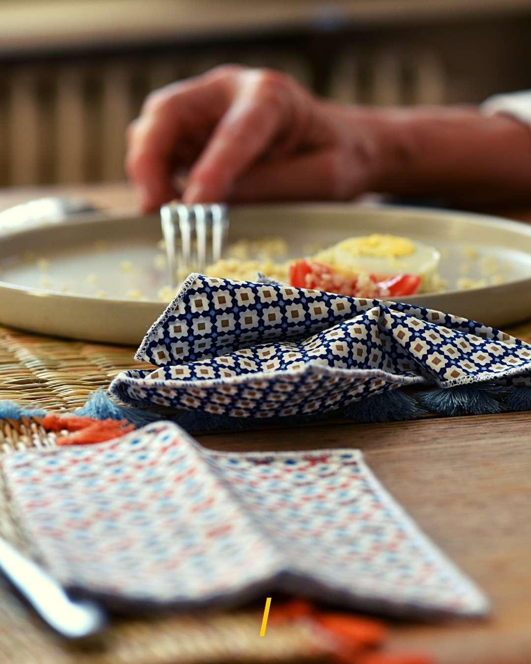 Serviettes de table écologiques