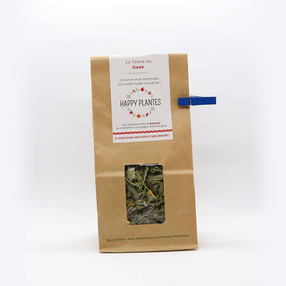 Tisane Booster aux plantes sauvages