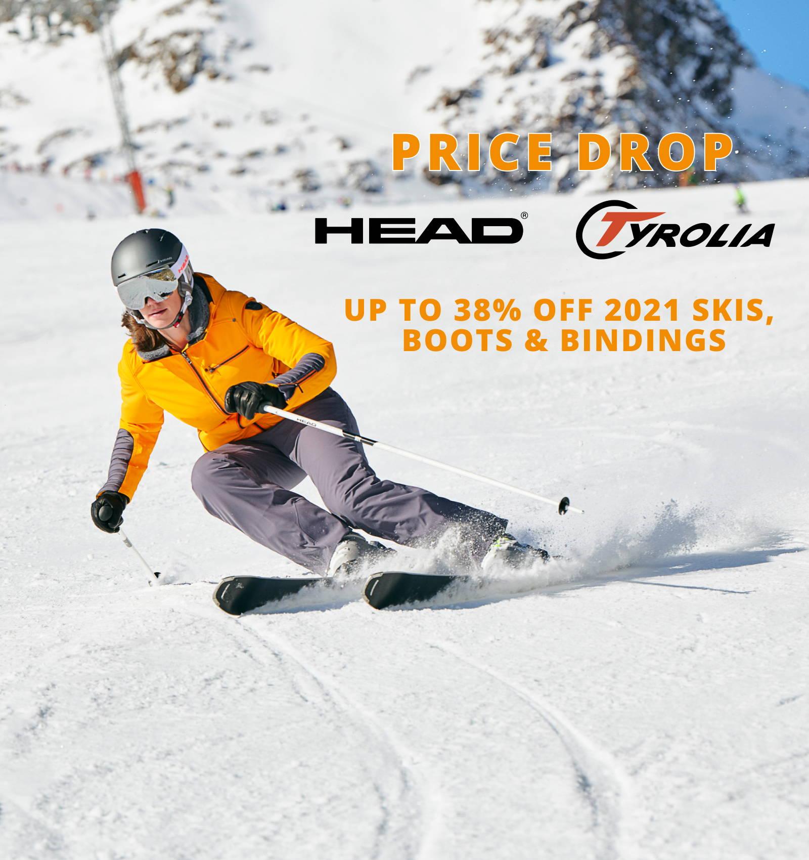 Price Drop Head Tyrolia