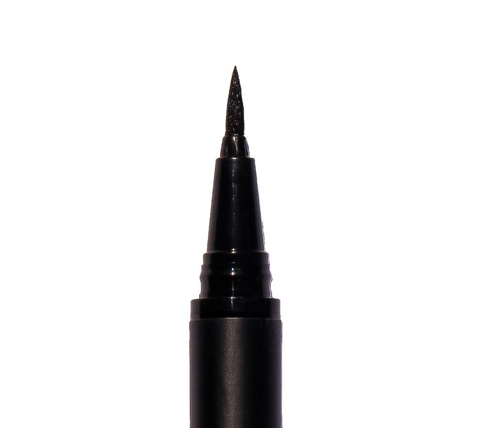 black adhesive eyeliner pen tip