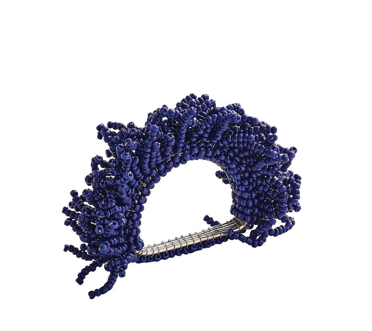 CARNIVAL NAPKIN RING IN NAVY