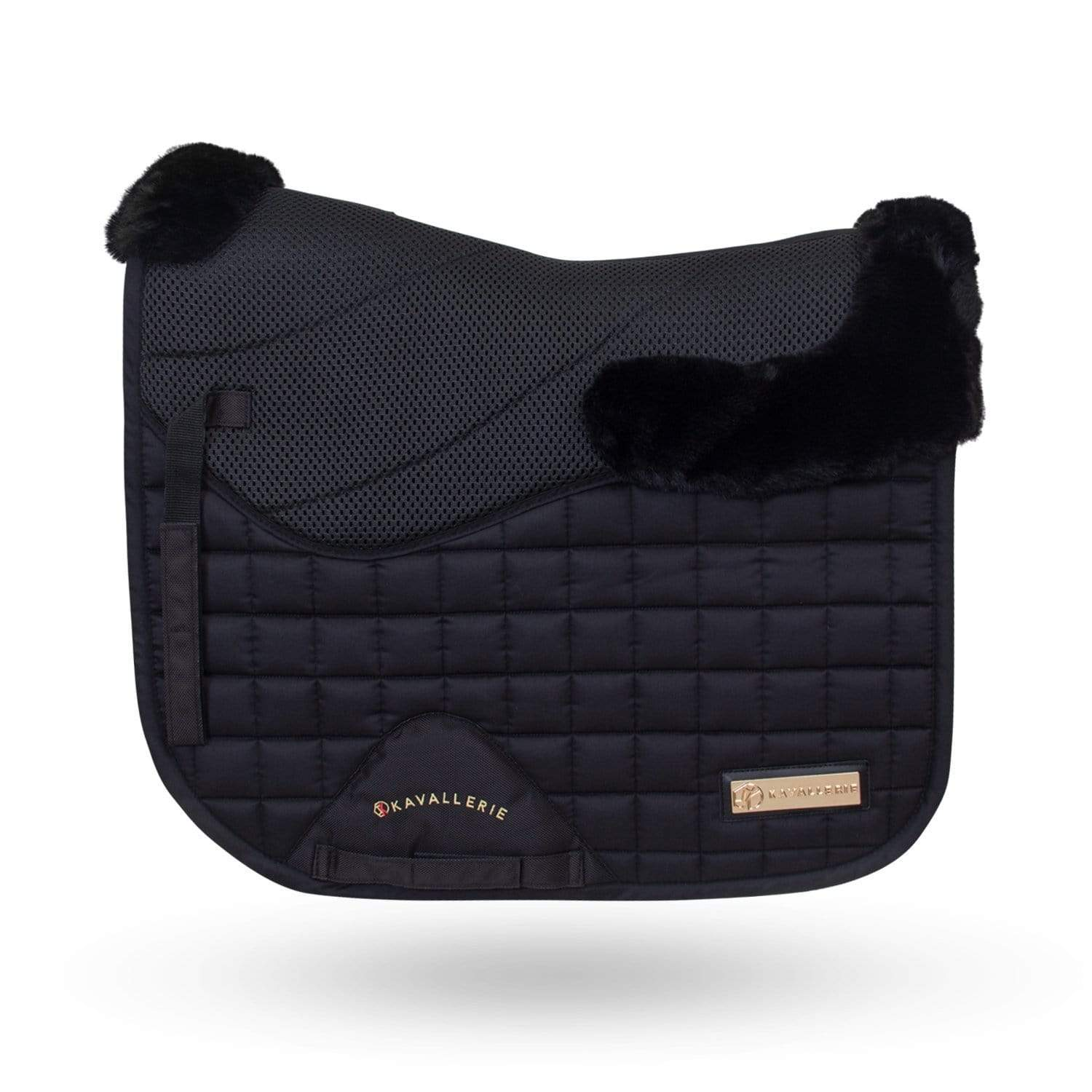 Full 3D Mesh with Fur Saddle Pad - Kavallerie
