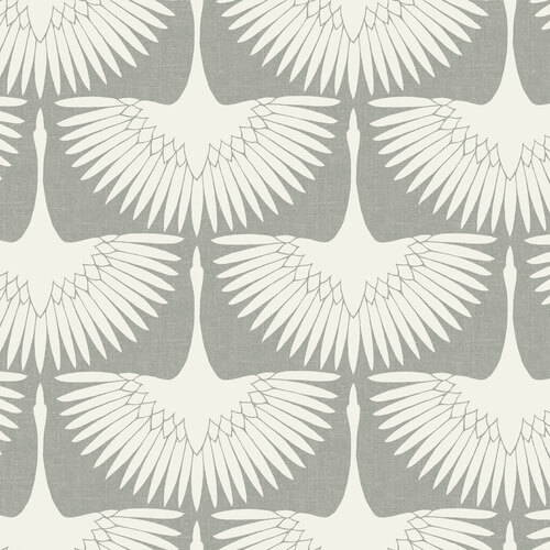 Tempaper Feather Flock Removable Wallpaper