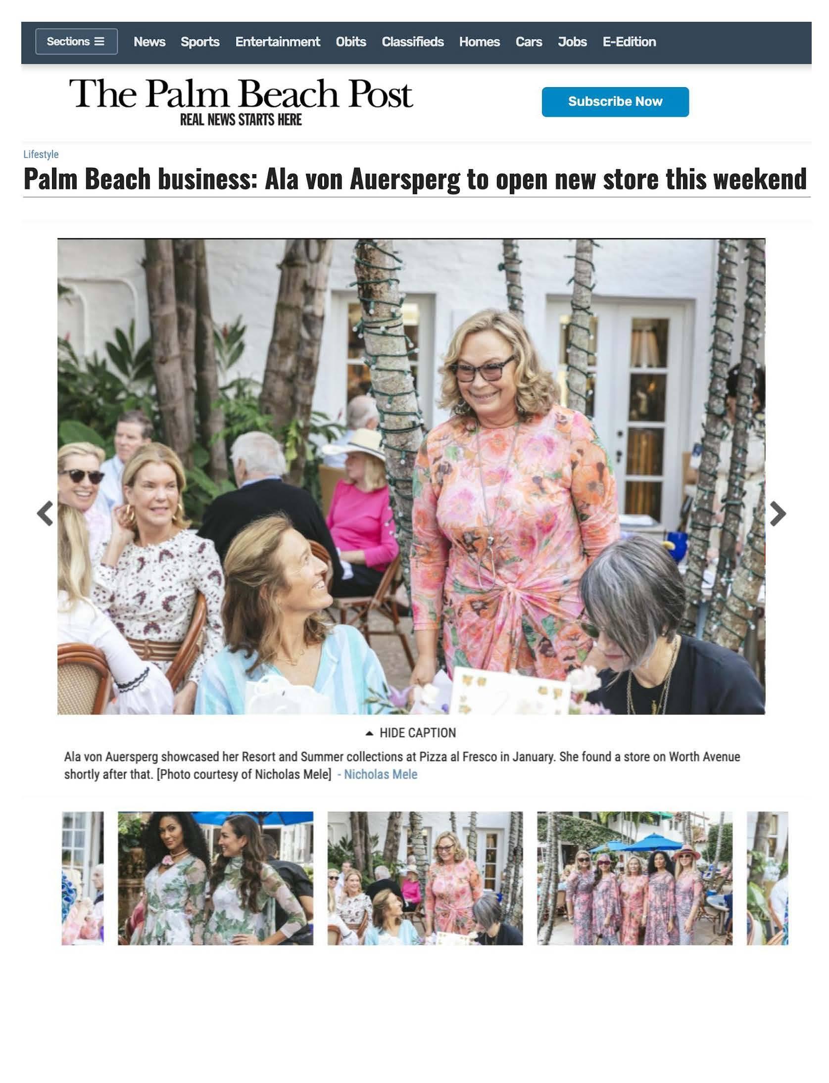 Palm Beach Post cover