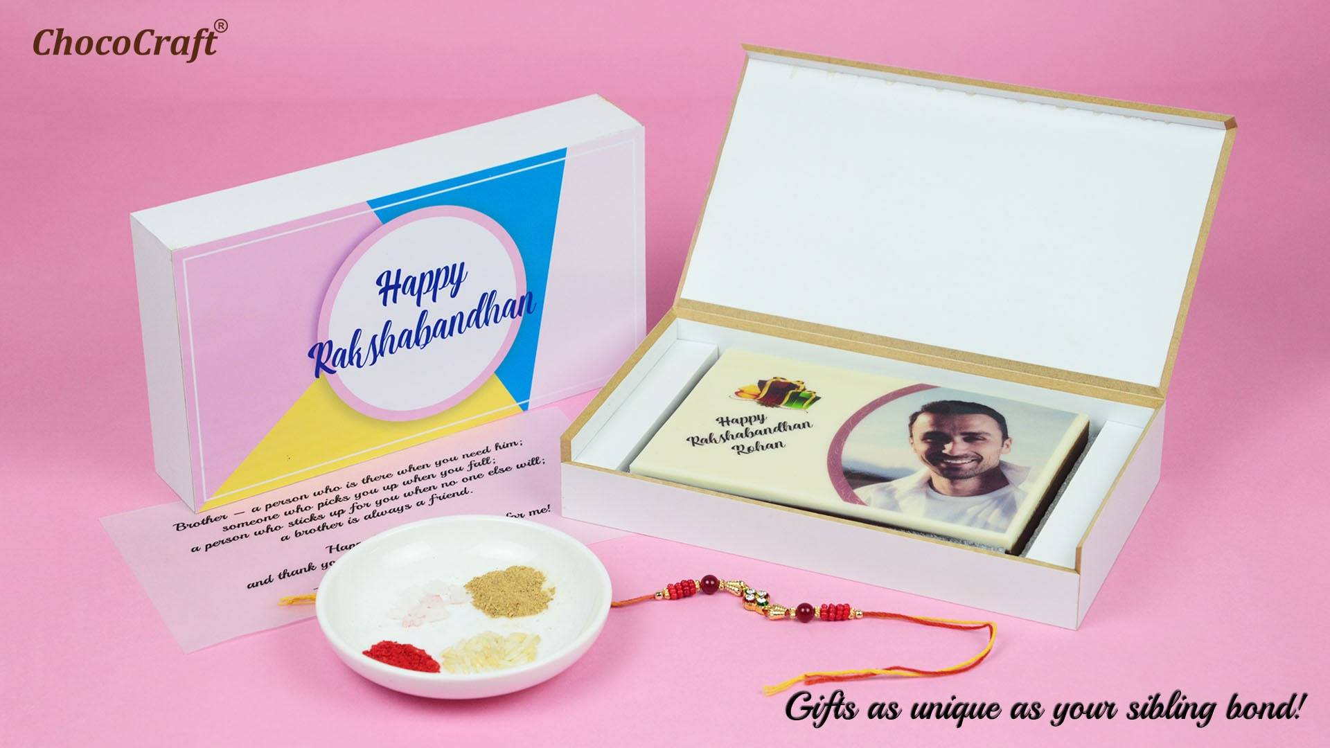 Personalized Rakhi Gifts for Brother