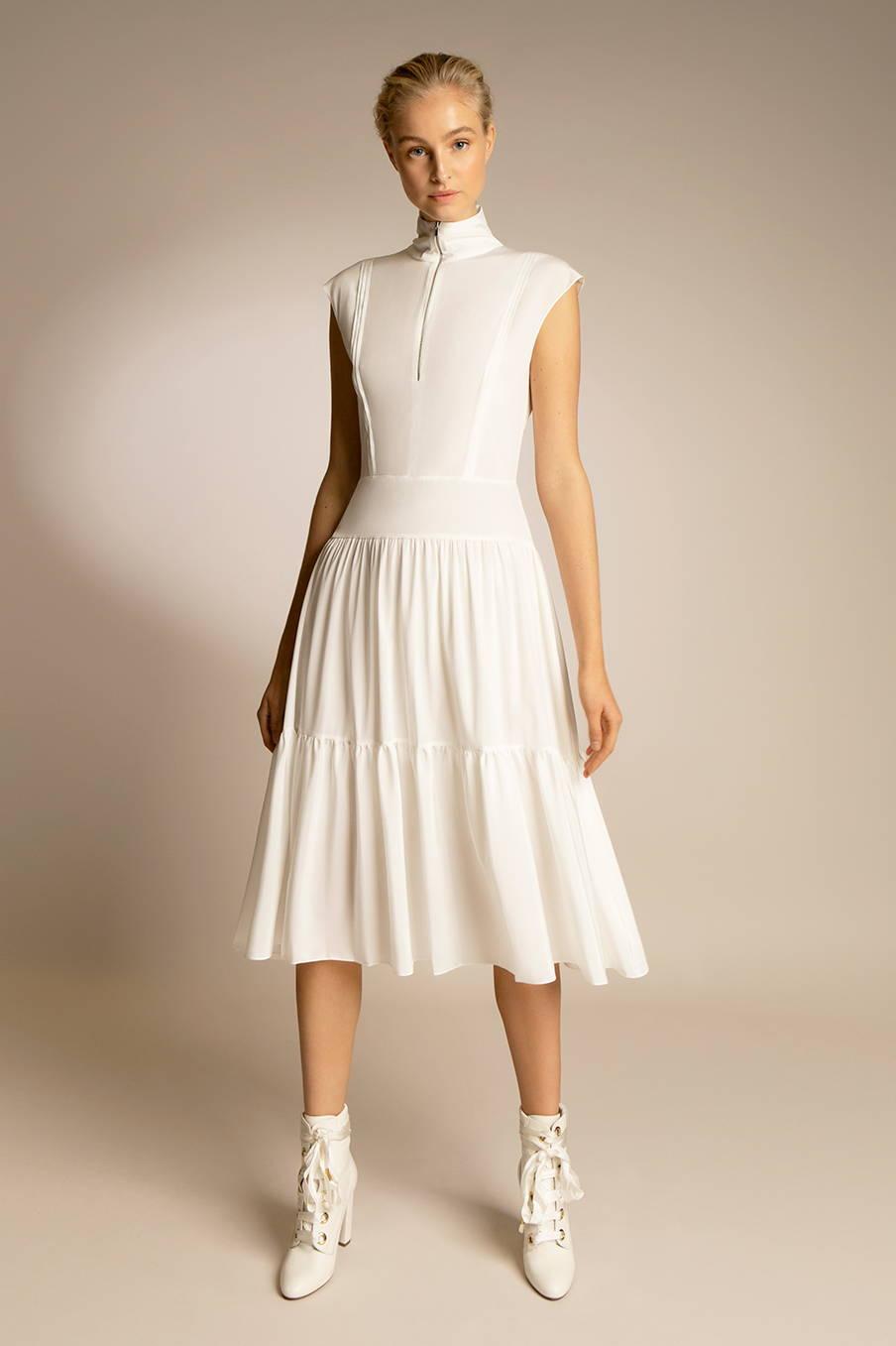 Women's Silk Crepe Dress | PENDA Women