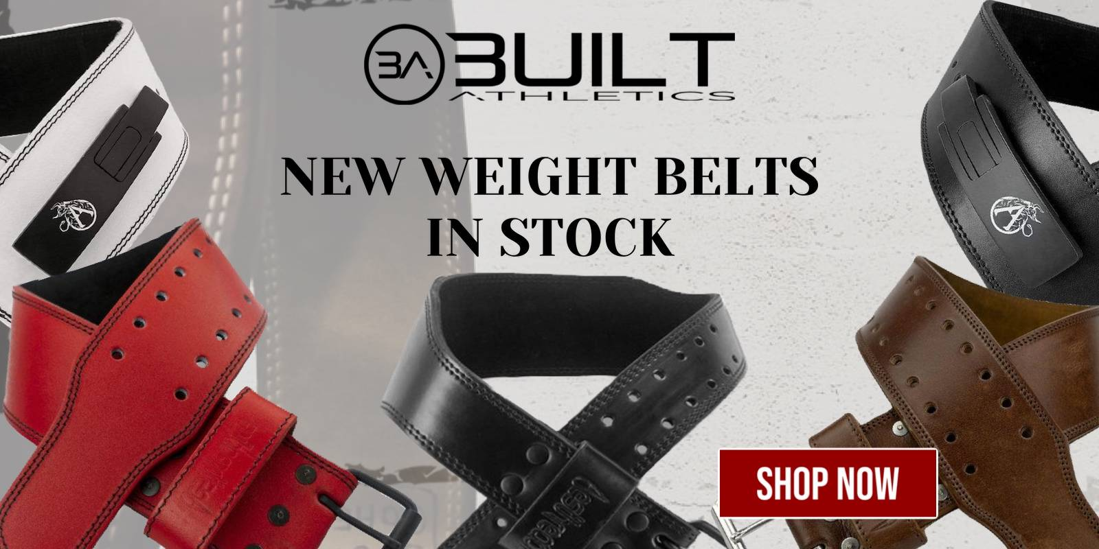 gym weightlifting leather belts