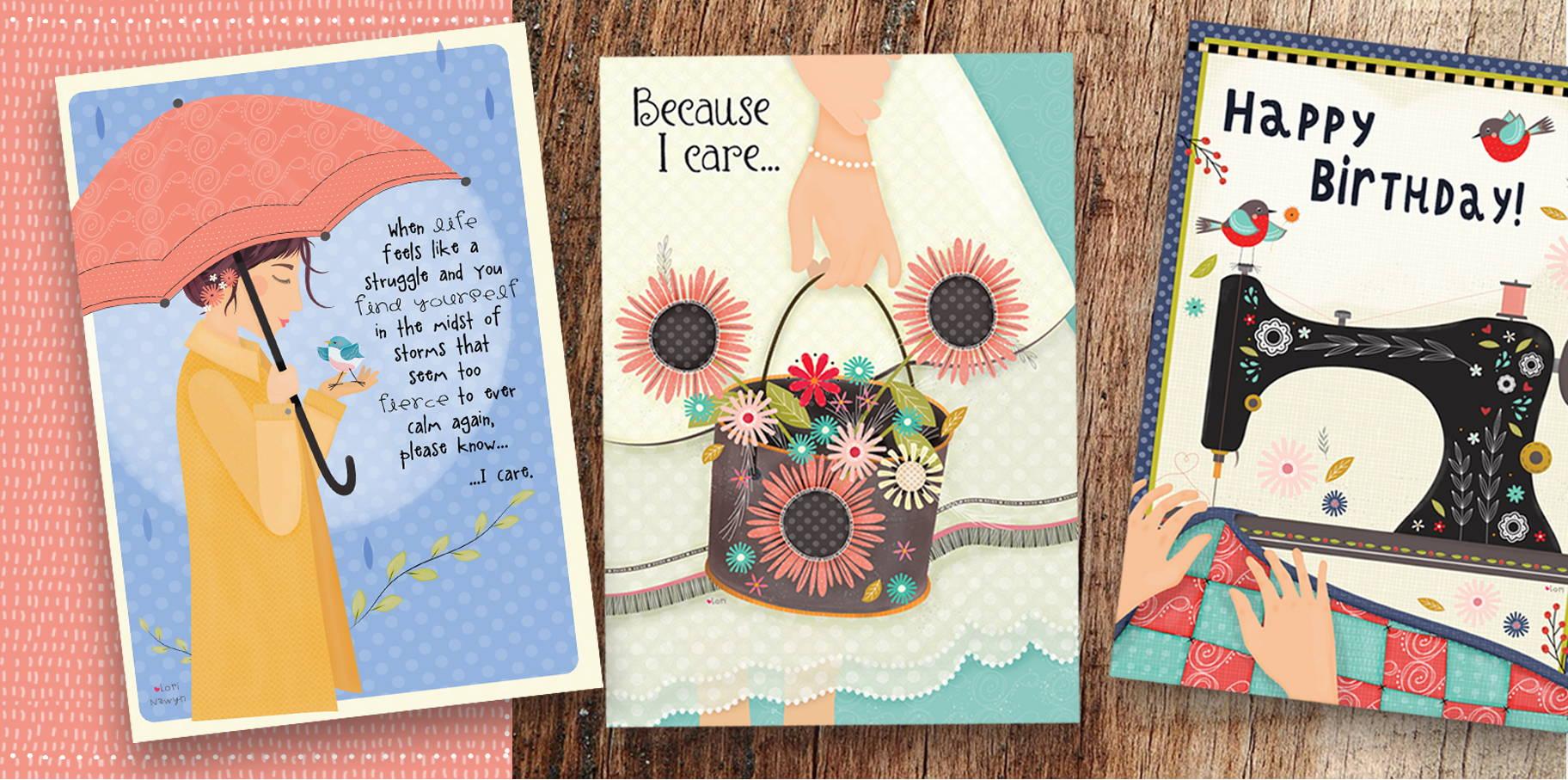 Lori Nawyn greeting cards