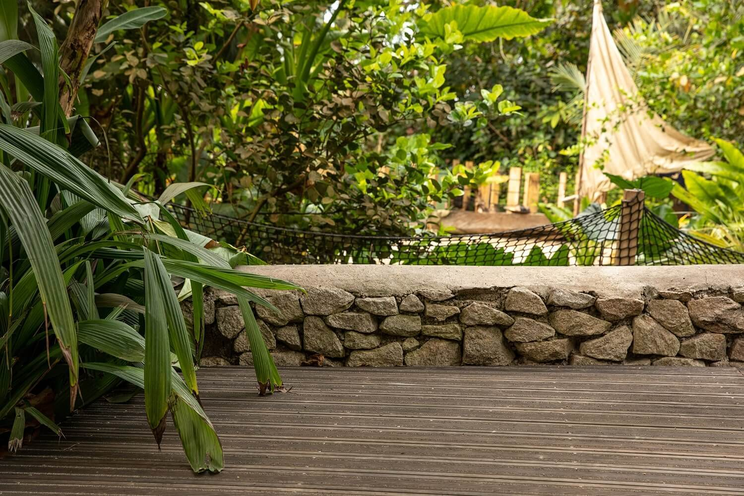 Bamboo Decking At The Eden Project