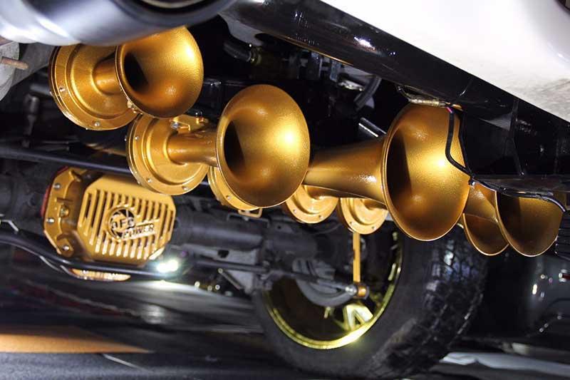 King 6 Train Horn Install