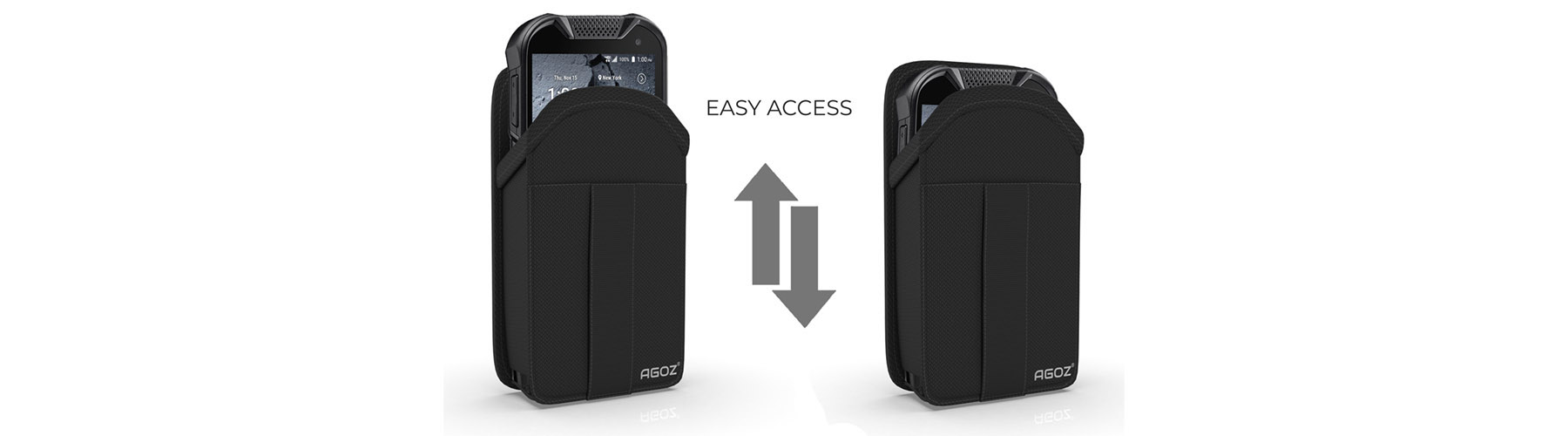 Kyocera Case with Credit Card Slot