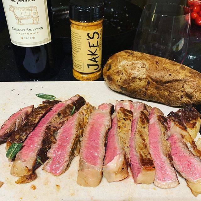 Jake's steak and wine