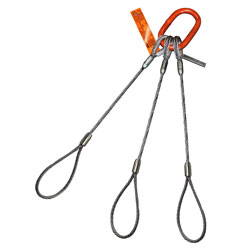 Three Leg Wire Rope Lifting Sling