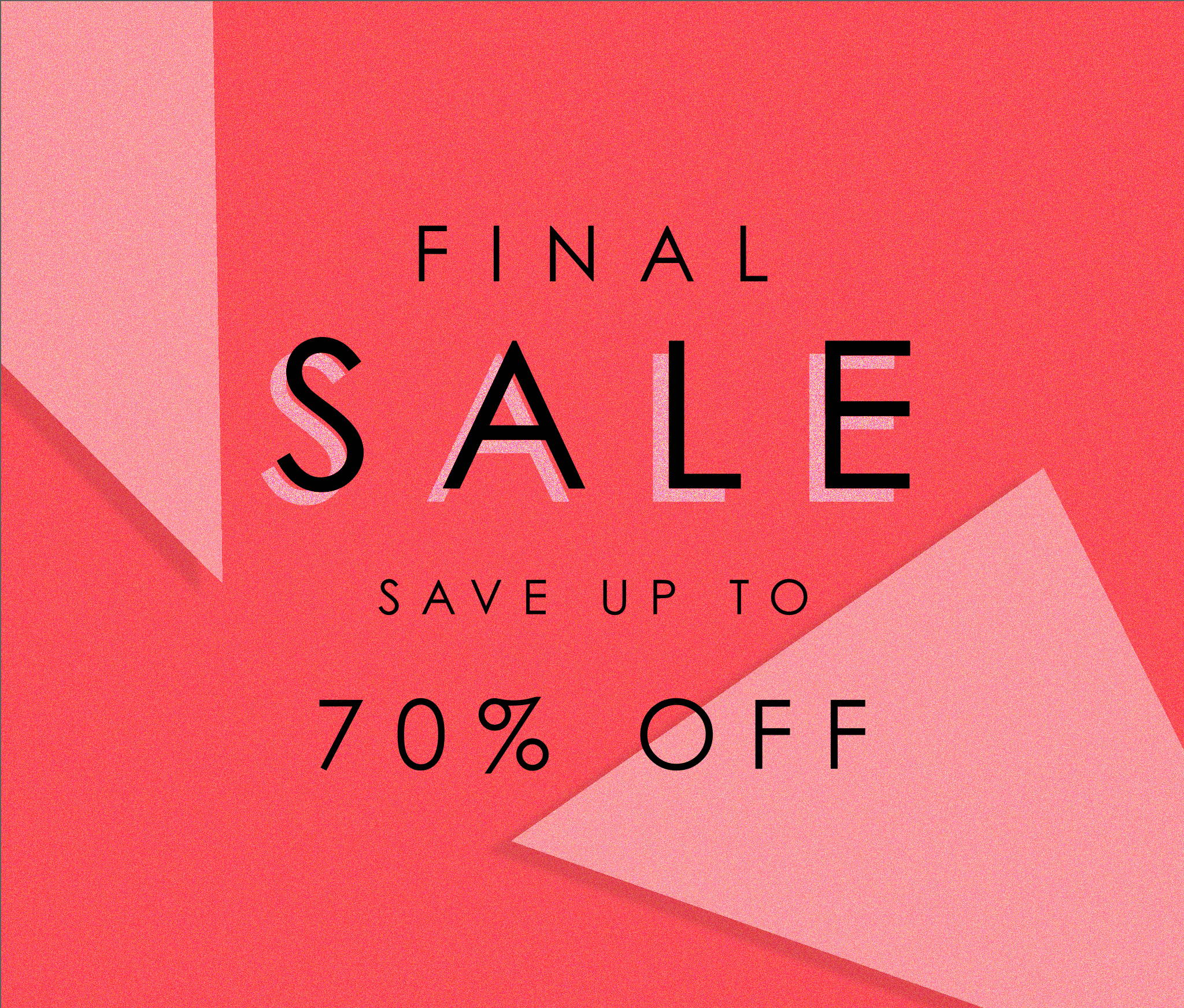 Final Sale - Save Up To 70% Off