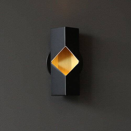 Rich Brilliant Willing Notch Wall Sconce
