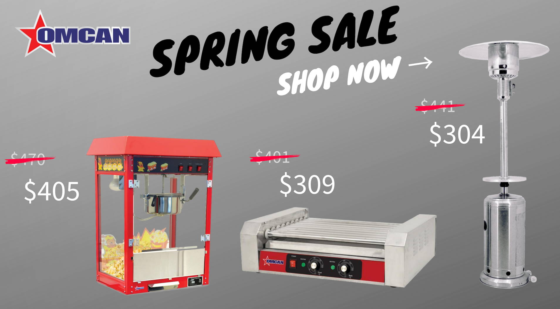 Omcan Spring Sale